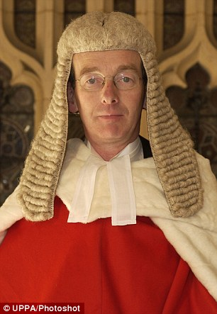 Ruling: Lord Justice McFarlane said at the court that people are 'free to make unwise decisions, provided that they have the capacity to decide'
