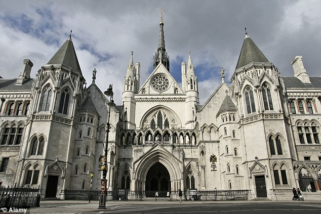 Ruling: The Court of Appeal (pictured) in central London heard today that the woman with learning difficulties began seeing the man before he was convicted and jailed for a series of sex offences