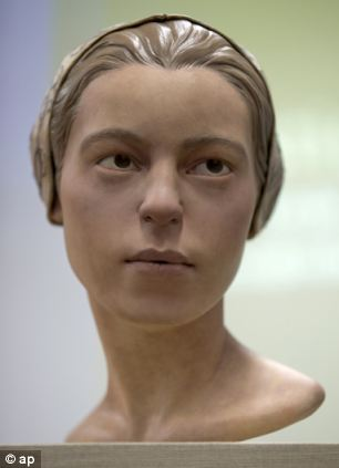 A facial reconstruction of 'Jane of Jamestown'