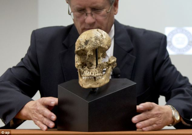 Doug Owsley, division head for Physical Anthropology at the Smithsonian's National Museum of Natural History,
