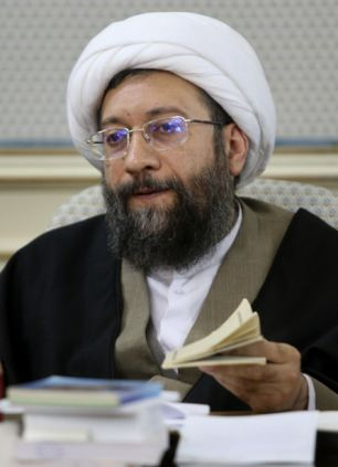 Iranian judiciary chief Sadeq Larijani