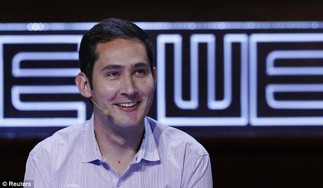 Instant millionaire: Instagram co-founder and CEO Kevin Systrom sold his firm to Facebook for $300m and 23 million shares