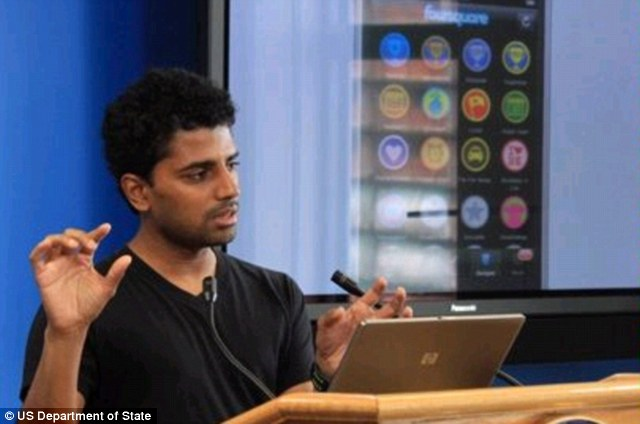 Good negotiator: Naveen Selvadurai, co-founder of foursquare and has an estimated net worth of $80 million dollars