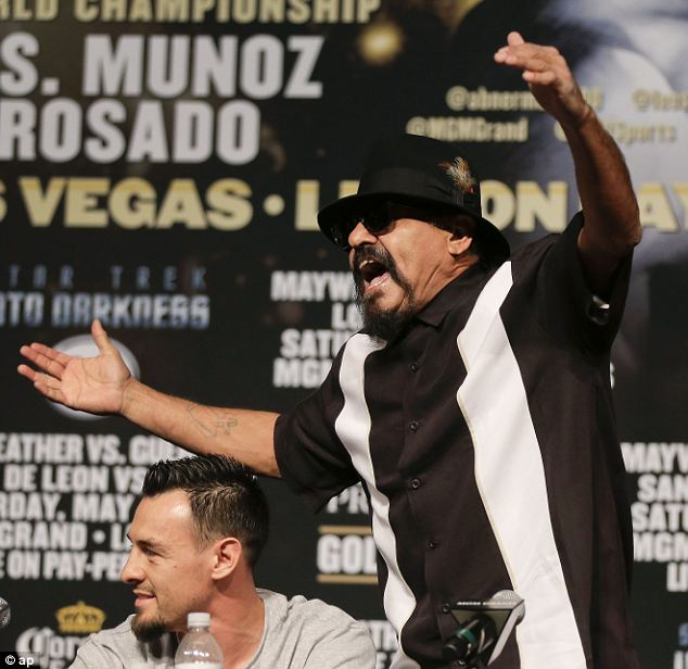 Flashpoint: Mayweather refused to respond when 30-year-old Guerrero¿s volatile trainer-father screamed at him that he is a 'wife-beater'
