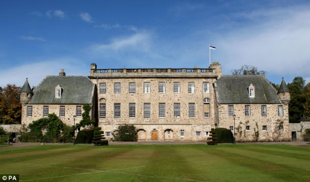 A grant of £5,000 was given to his old school Gordonstoun that he once called 'Colditz with kilts'