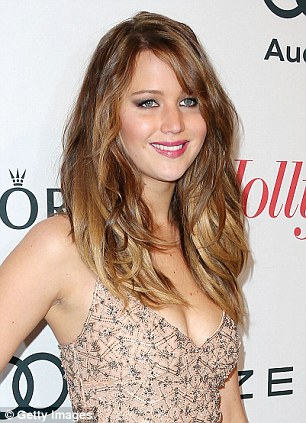 Changes: Jennifer has sported everything from shaggy blonde waves to sleek dark up-dos