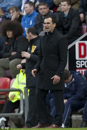 Rough with the smooth: Roberto Martinez