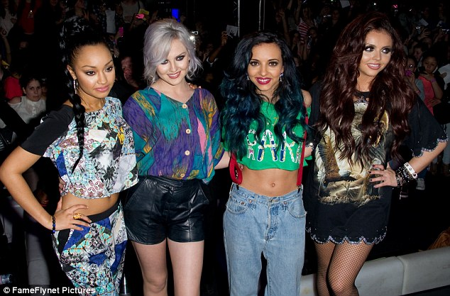 Strength to strength: Little Mix have enjoyed huge success since winning The X Factor and performed to a sell-out crowd in Paris, France, last week