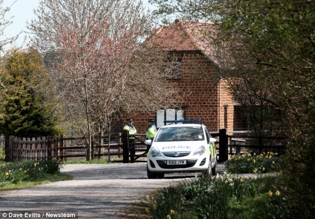 The couple were found dead at their £500,000 luxury home in picturesque Loddington, Northamptonshire
