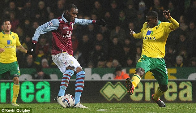 Late season revival: Aston Villa will look to build on recent good form when they travel to Norwich