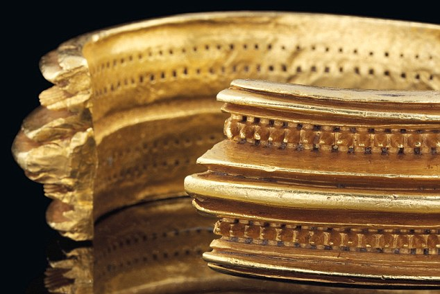 Expensive: The bracelet had been expected to fetch between £40,000 and £60,000 but the final price was £517,875