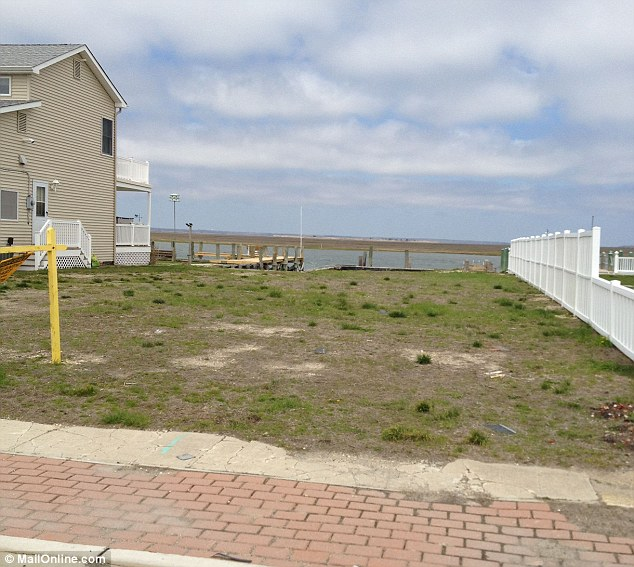 Site: Gosnell owned a home on this ocean front site in Brigantine, near Atlantic City in New Jersey but the property was torn down after he sold it for around $400,000 to cover legal fees last year