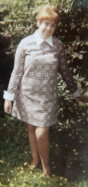 Innocent and trusting: Susan in the dress she bought from Hall's wife