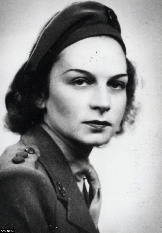 Heroine: Didi's sister Jacqueline also served as an SOE agent during World War II but returned to Britain exhausted in 1944