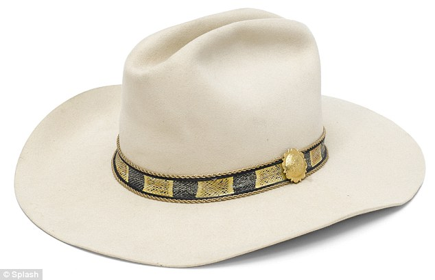 J.R.'s trademark: There are numerous cowboy and western-themed items, including several hats which will probably get between $600 and $800