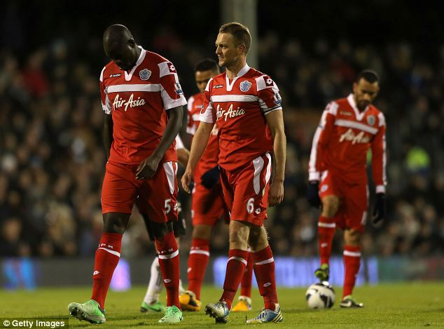 High to low: QPR began the season with high expectation, but their relegation was confirmed on Sunday