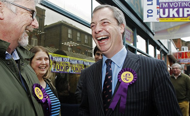 UKIP is not extremist. In many ways it is the Conservative Party in exile. Its main benefactors used to bankroll the Tories, and many of its activists have worked for them