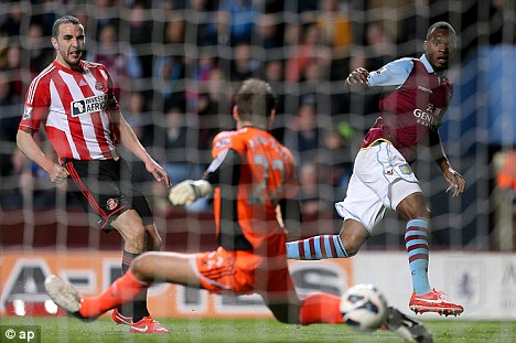 Drubbing: Sunderland need to bounce back from their 6-1 defeat at Aston Villa last Monday