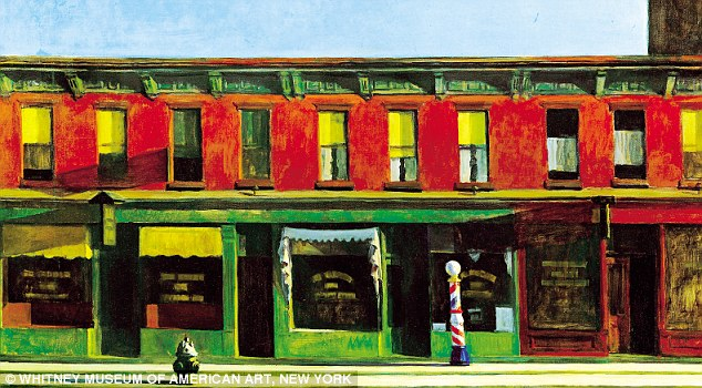 On the Edward Hopper exhibition at the National Gallery: My favourite piece was Early Sunday Morning, a painting that portrays the small businesses of Seventh Avenue in New York at sunrise