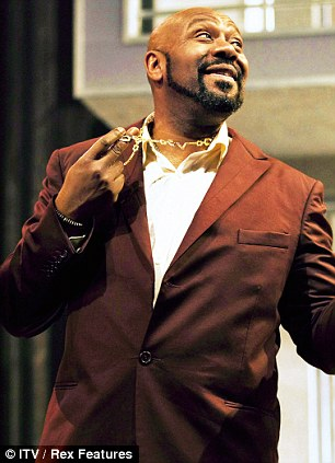 Lenny Henry in The Comedy Of Errors