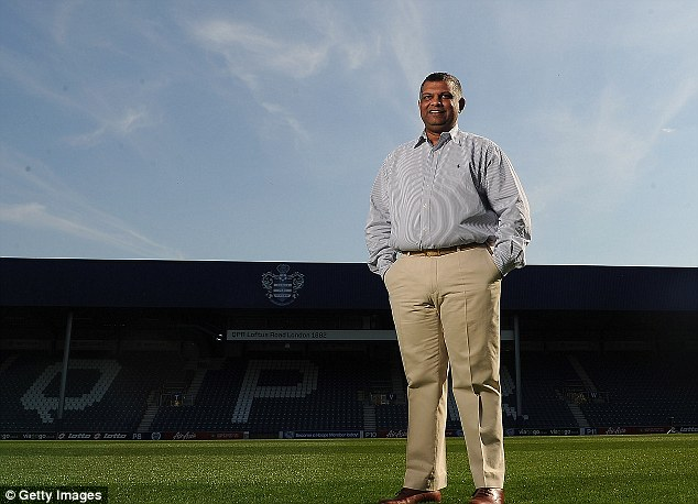 Change afoot: QPR owner Tony Fernandes has hinted at selling the club's stadium's naming rights