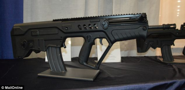 This IWI TAVOR is the perfect weapon for devotees of early Denise Richards movies like Starship Troopers. If you're ever besieged by truck-sized aliens who look like giant bugs, you'll be ready