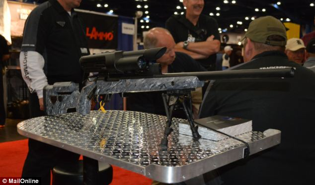 You can put a hole inside a nickel at 850 yards with this precision-guided rifle. If the wind shifts after you lock on to your target, fear not: the computer will compensate