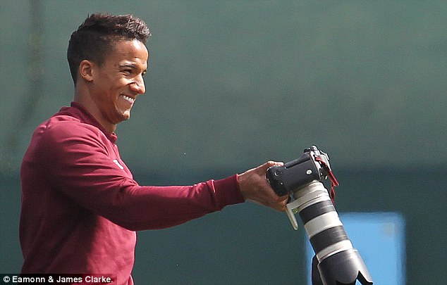 Trouble: Scott Sinclair has been taken to hospital for treatment but the clot is not life threatening