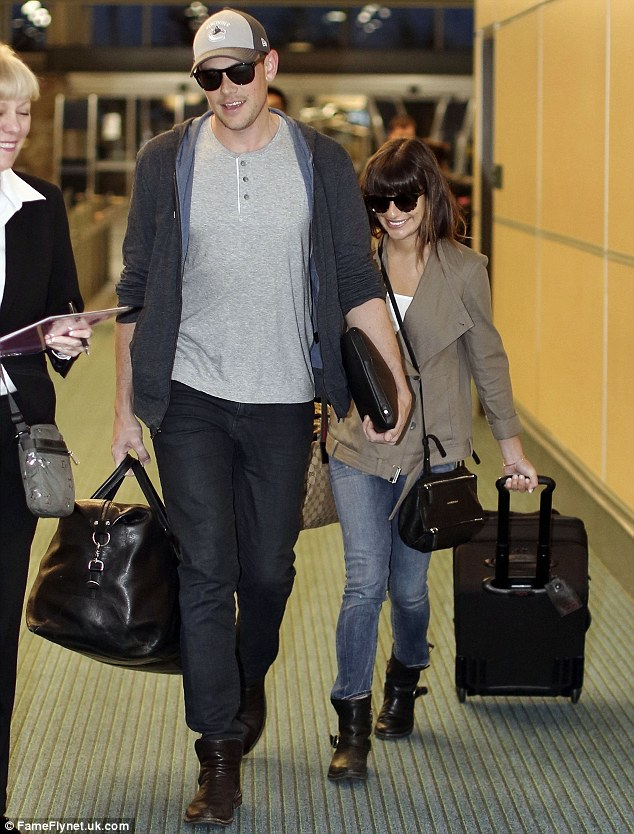 Back to work: Now their vacation has ended Cory will have to focus on staying sober while in Hollywood