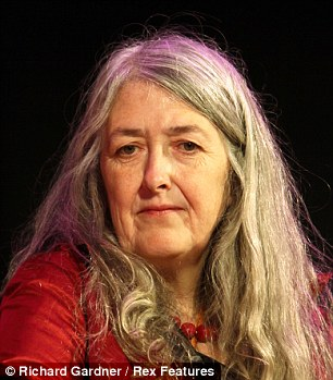 Mary Beard is taking inspiration from Helen Mirren and pans to dye her hair pink