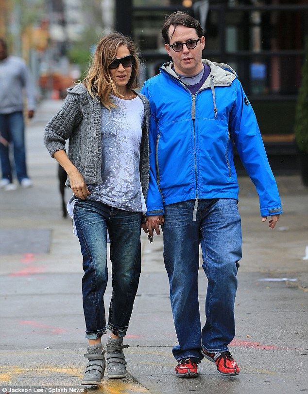 There's an idea: Perhaps SATC 3 could describe Carrie and Big's desire to start a family, which is something that Sarah and Matthew know a lot about