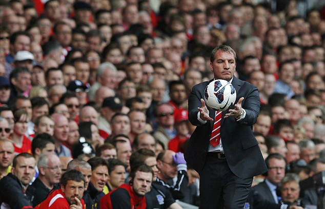 The ref was right: Liverpool manager Brendan Rodgers said Michael Oliver made the right call