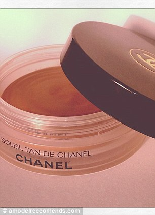 The tools: Chanel's Bronzing Makeup Base and a MAC Pencil brush are key tools