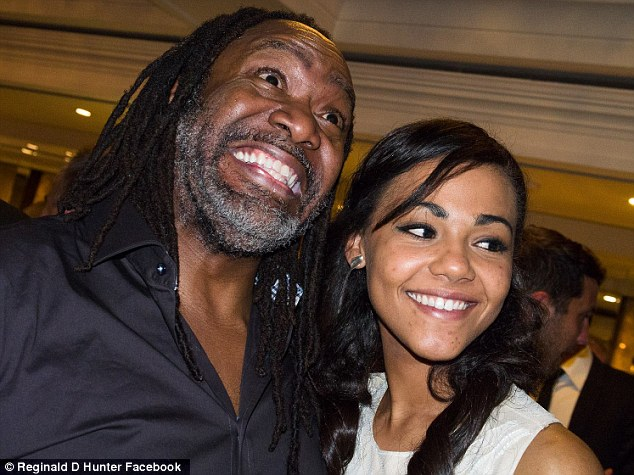 Controversial: Reginald D Hunter used the N-word on a number of occasions during his act at the PFA Awards