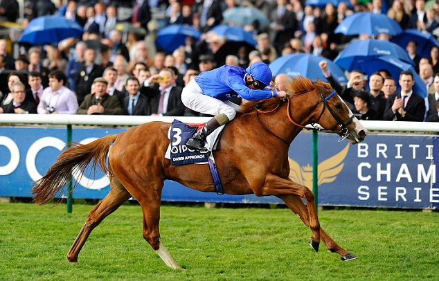 Onto a winner: Dawn Approach won the Qipco 2000 Guineas at Newmarket