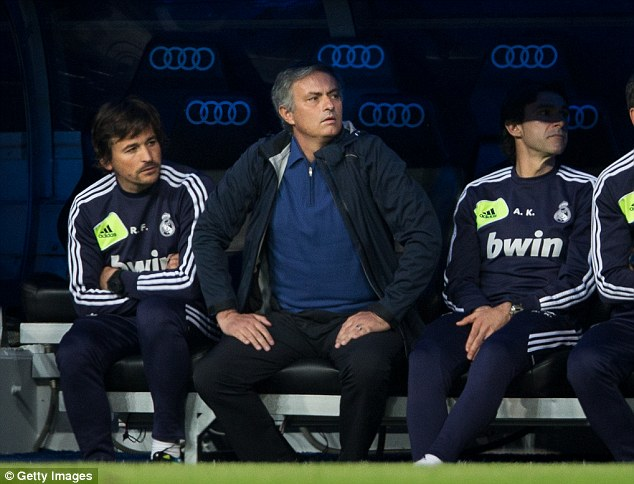 Revealing: Jose Mourinho was about to tell all before ITV cut their interview with the Portuguese short