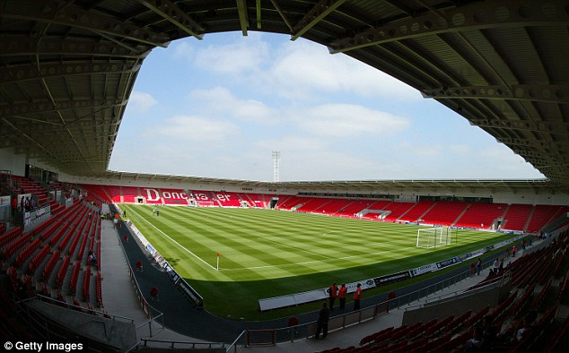 Stage is set: Doncaster's Keepmoat Stadium will play host to McDonnell's world title fight