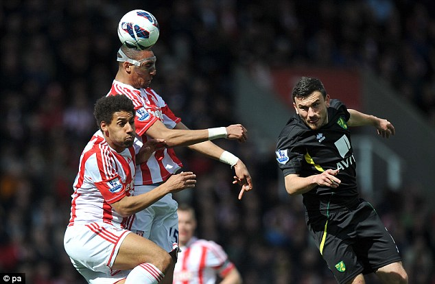 High hopes: Stoke have won their last two games