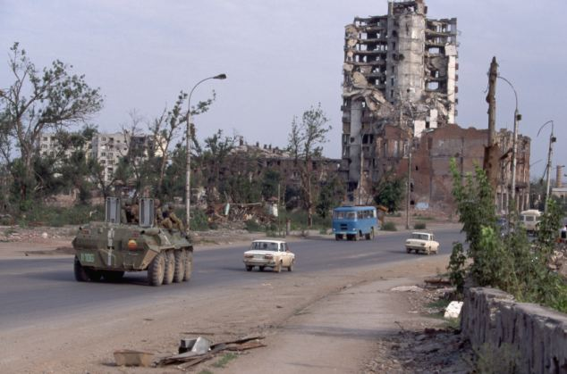 Then: Grozny, the capital of Chechnya in 1995 was a hub of violent crime during the Civil War. In 2003, the United Nations called Grozny the 'most destroyed city on earth'