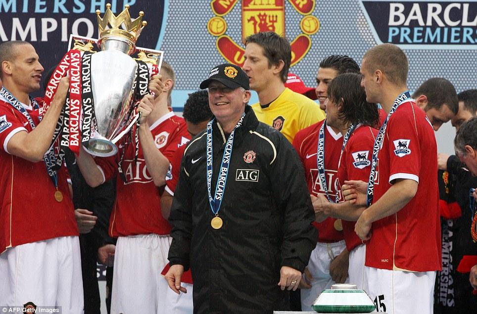 2006-2007: United regain the Premier League after a four year gap