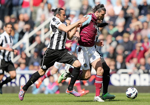 He's Toon good to let go! Carroll's future remains undecided as he approaches the end of his loan deal
