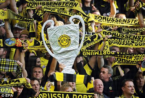 Wembley fever: More than half a million Dortmund fans have applied for just 24,000 tickets
