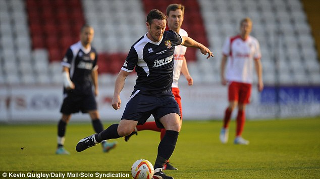 Leader: Kevin Nolan was also among those to play