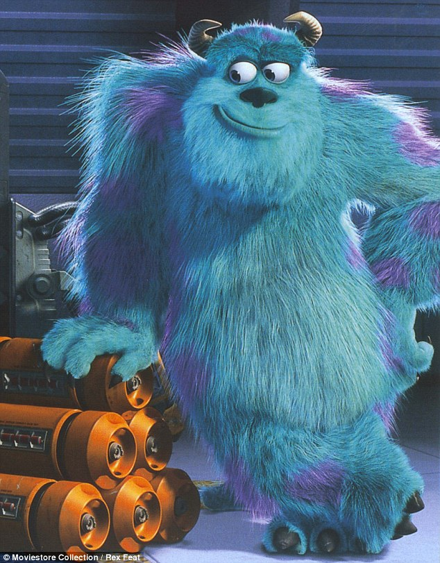 Look-alike: Sulley from 2001's Monsters, Inc.