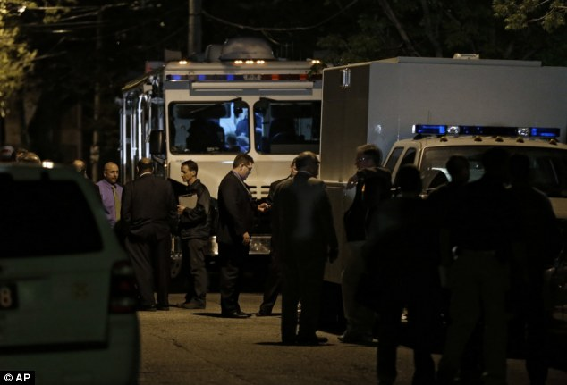 Investigation: Police and FBI congregate outside a house on Cleveland's west side