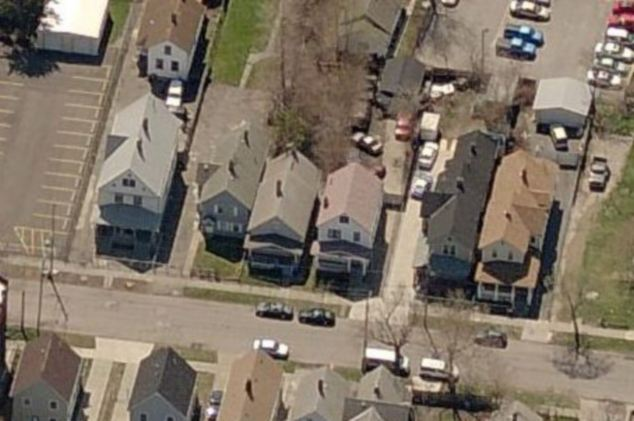 Shocked: Neighbors have voiced their shock at finding out the women were living in the basement of the Ohio home