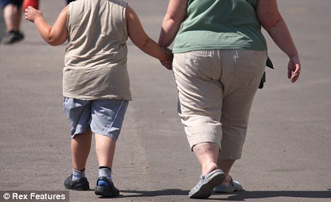 Epidemic: The Government estimates 61% of adults and 30% of children aged between two and 15 are overweight or obese in England