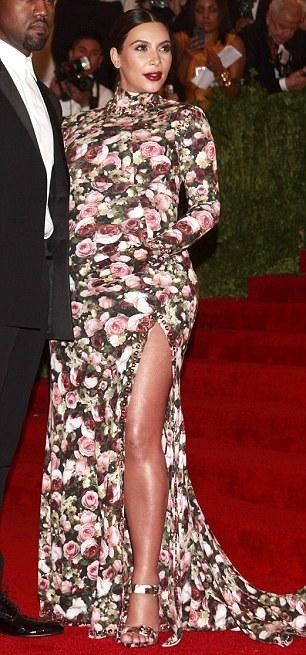 Kanye West and Kim Kardashian arrive at the Metropolitan Museum of Art Costume Institute Benefit