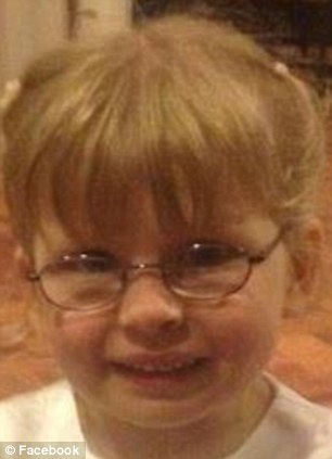 Heartbreaking: Four-year-old Surranna Stonestreet was crushed to death after a garden wall which was believed to have been partially demolished by her father fell on top of her