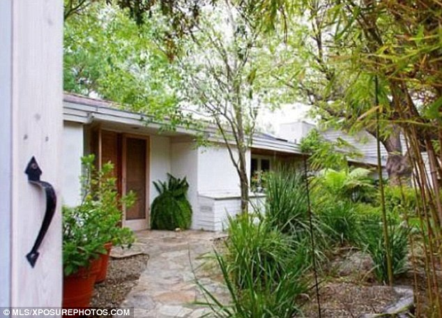 Hidden away: The house was listed as being perfect for privacy and well-suited to celebrities, increasing its appeal for Chris